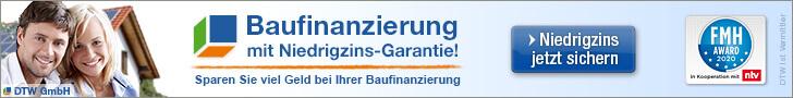 Banner DTW Baufinanzierung