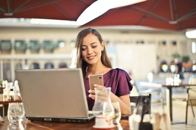 Online Kredit mit Handy abgeschlossen
